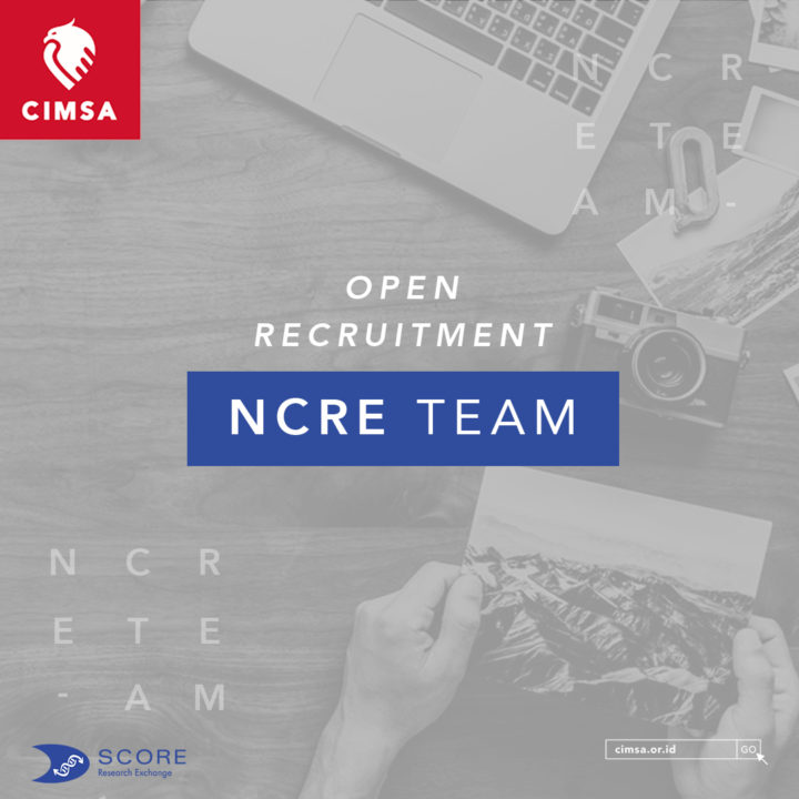 Open Recruitment NCRE Team 2018/2019