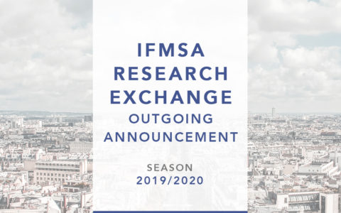 IFMSA Exchange Outgoing Announcement