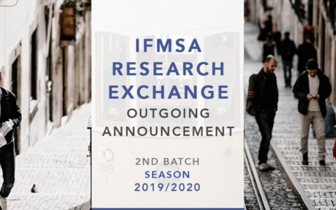 IFMSA RESEARCH OUTGOING 2ND BATCH