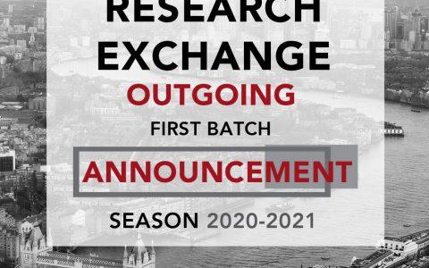 SCORE CIMSA OUTGOING ANNOUNCEMENT 2020-2021 : 1ST BATCH