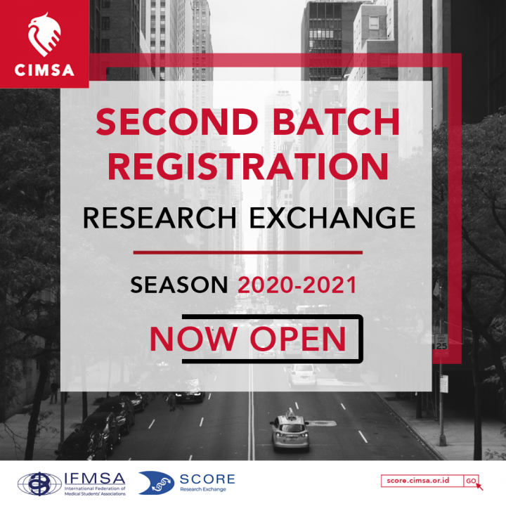 SECOND BATCH RESEARCH EXCHANGE OPPORTUNITIES
