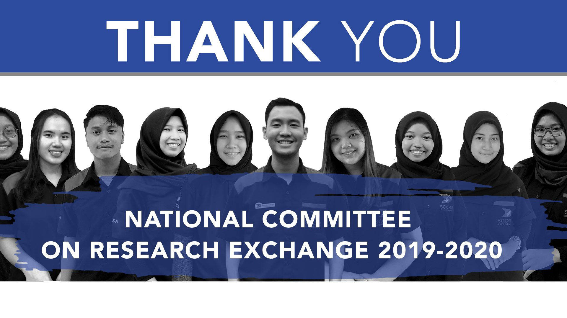 THANK YOU NCRE 2019/2020